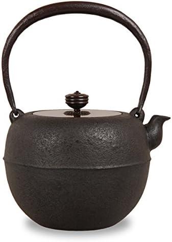 鉄瓶 鉄鉢8号 菊地浄慶 作