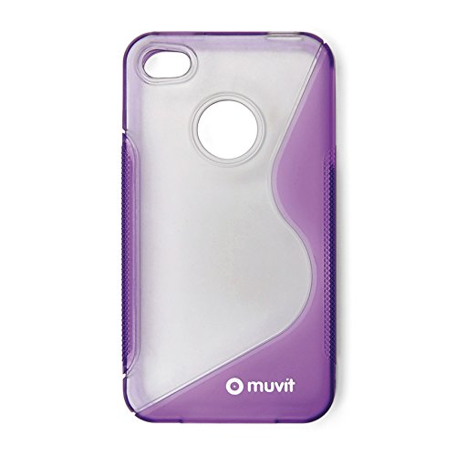 Muvit Muccp0386 Hard Case für Apple iPhone 4 violett