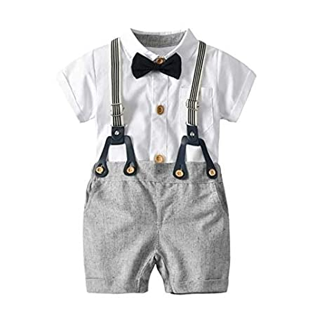 New Baby Boy Clothes Toddler Party Birthday Casual Occasion 2Pcs Kids Outfit Set