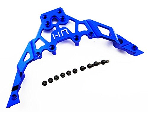 Price comparison product image Hot Racing YET14U06 Aluminum Front Bulkhead,  Axial Yeti 1 / 10,  Blue