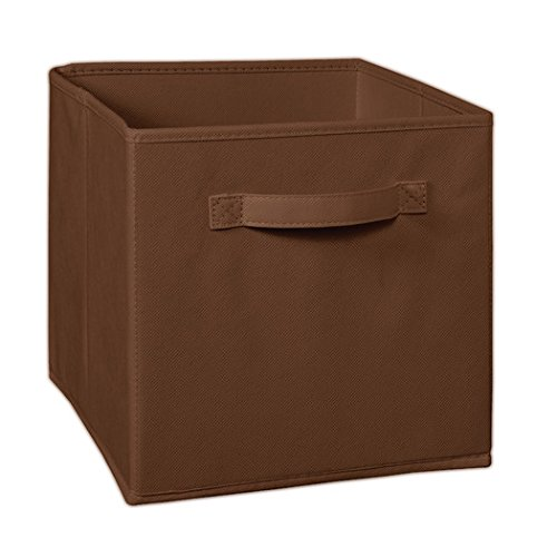 My Gift Booth Non-Woven Cubical Storage Box, Brown