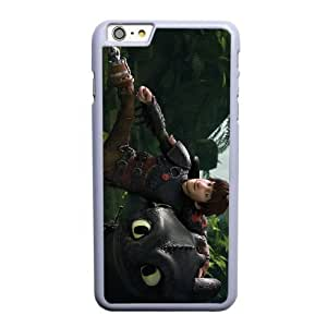 Generic Fashion Hard Back Case Cover Fit for iPhone 6 6S 4.7 inch Cell Phone Case white How to Train Your Dragon with Free Tempered Glass Screen Protector PKL-6033262