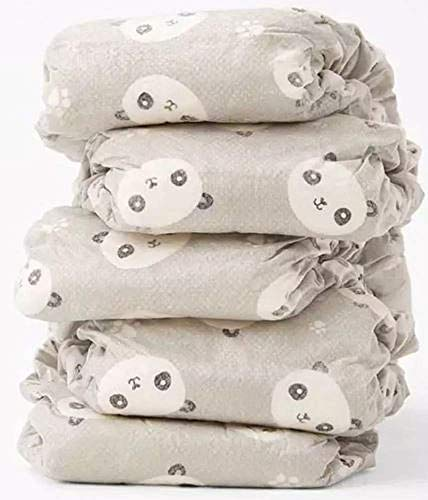 The Honest Company - Eco-Friendly and Premium Disposable Diapers - Pandas, Newborn Size (<10lbs.) 32 Ct.