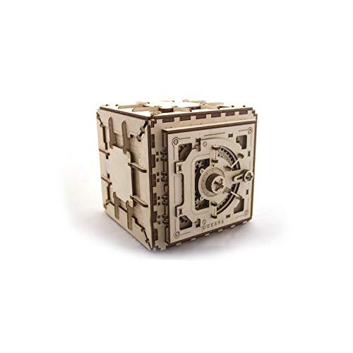 Model Safe Kit | 3D Wooden Puzzle | DIY Mechanical Safe by UGEARS