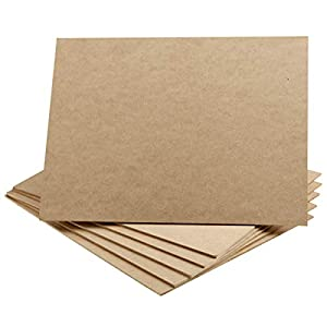 Artlicious – 9×12 Hardboard 6 Pack – Great Alternative to Canvas Panel Boards