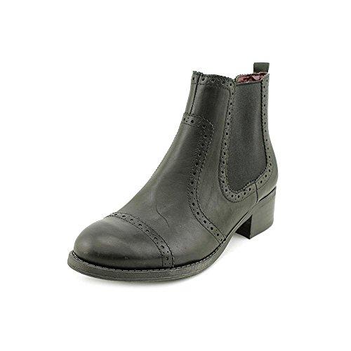 Tommy Hilfiger Kamala Womens Size 5 Black Leather Casual Boots
