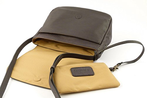 Shoulder bag Timberland M5377 anthracite 001 Made in Italy