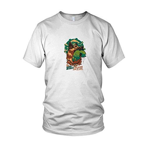 Super Mutant Dog - Herren T-Shirt, Größe: XXL, Farbe: weiß