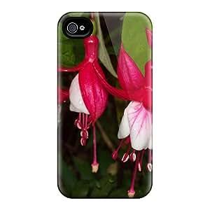 Premium Durable Lipstick Fuscia Fashion Iphone 4/4s Protective Cases Covers