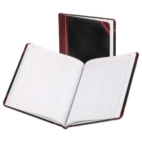 Columnar Book, Two Column, Black Cover, 150 Pages, 10 3/8 x 8 1/8, Sold as 1 Each Columnar Book 150 Sheet Thread