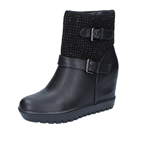 FRANCESCO Boots Leather Ankle Womens MILANO Black qWFp0