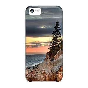 Lmf DIY phone caseNEWDesign Shatterproof Case For iphone 5c (bass Harbor Head Light)Lmf DIY phone case