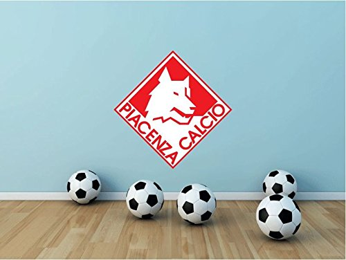 Piacenza Calcio FC Italy Soccer Football Sport Art Wall Decor Sticker 22'' X 22'' by postteam