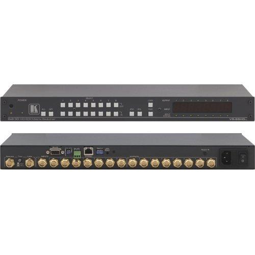 (Kramer Matrix Vs-88Hdxl 8X8 3G Hd-Sdi Matrix Switcher - Video Switch - Rack-Mountable