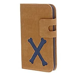 Buy Artificial Leather and PC Flip Wallet Stand Case Cover for Samsung Galaxy Note 2 N7100(Assorted Color) , Gray