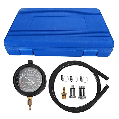 Car Repair Detection, Three-Way Catalytic Exhaust Pipe Clogging Detection Meter Gauge Automobile Petrol Compression Tester Test Kit