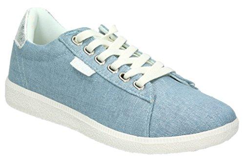 MTNG Plus, Zapatillas de Deporte Para Mujer Azul (Canshine Azul)