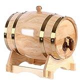 Wine Oak Barrel Mini Barrel Mini Alcohol Beer Barrel Oak Barrel 3L