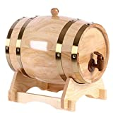 Wine Oak Barrel Mini Barrel Mini Alcohol Beer Barrel Oak Barrel 1.5L