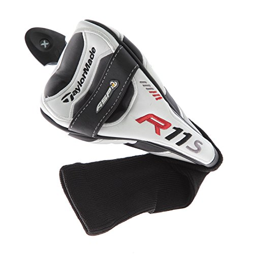 Taylor Made R11S Fairway Wood Headcover Wht/Blk/Red Golf Club Cover (Taylormade Club Heads)