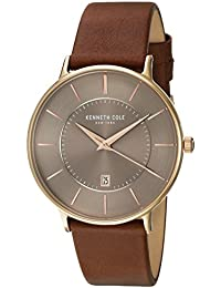 New York Mens Uhr Watch Leather KC15097003