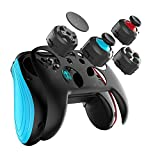 Game for Switch Controller,GEEKLIN Wireless Gamepad for pc Android,3D Joystick moudles and Button moudles are Interchangeable