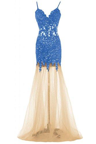 Sunvary Blue Vestito Sunvary Vestito Donna 8IS1wqFnx5