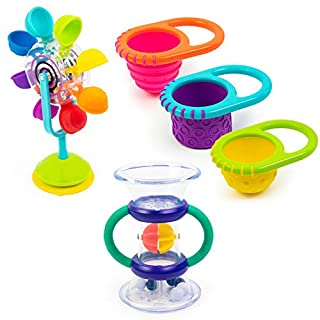 Sassy Whirling Wheel Waterfall, Double Dip Funnel & Flex N Fill Cups 5pc