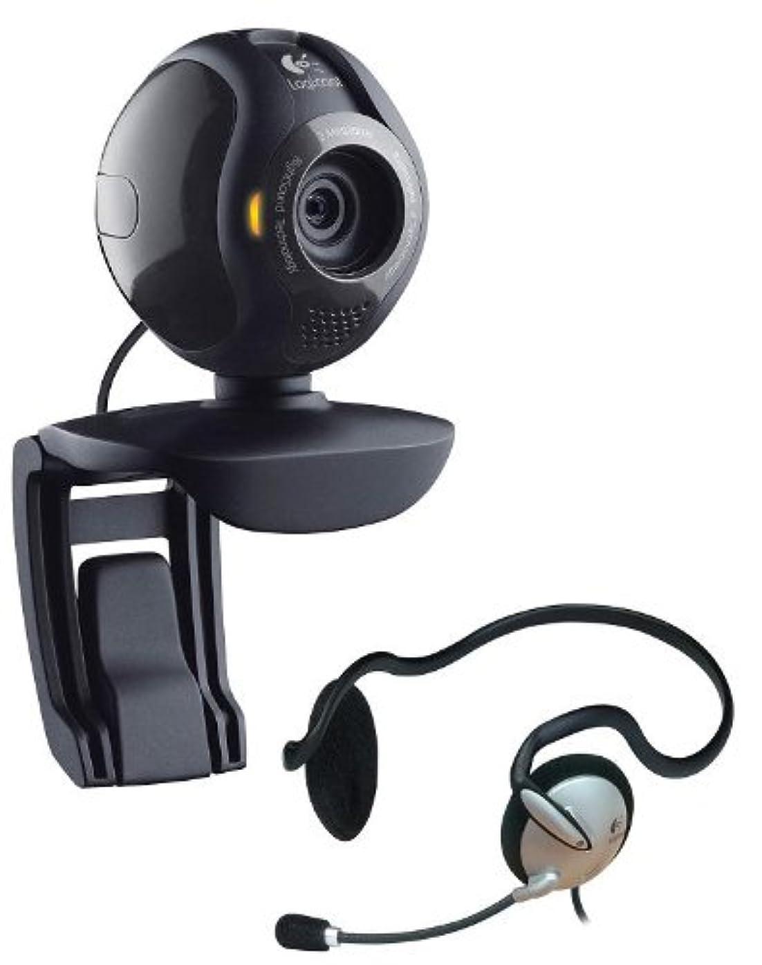 悪党トロリーバスプラカードiBUFFALO 200万画素Webカメラ ガラスレンズ搭載モデル ヘッドセット付 ブラック BSW20K10HBK