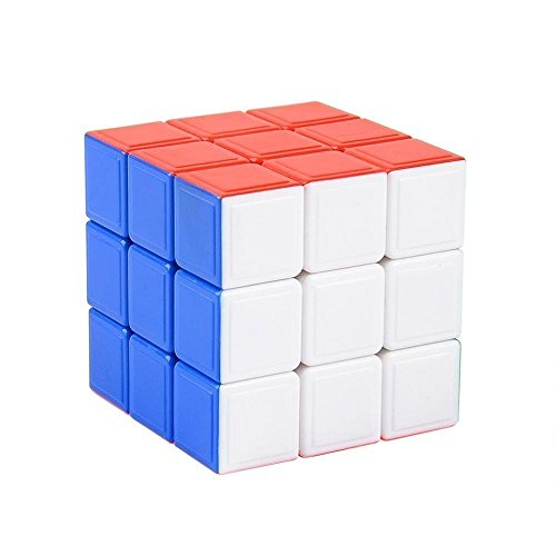 Ohuhu 3X3X3 Stickerless Speed Cube Puzzle Cube Magic Cube Puzzle, Anti-POP &...