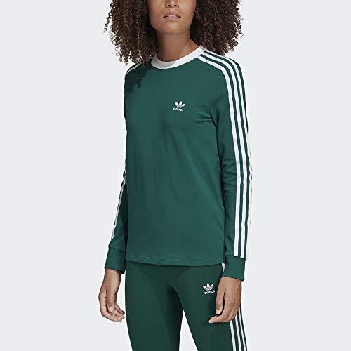 adidas Originals Womens 3-Stripes Long Sleeve Tee