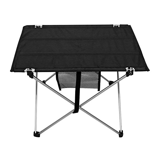 Kany adjustable folding utility table 30 by 21 inches oxford fabric portable lightweight - Small lightweight folding table ...