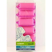 Conair Body & Bounce Jumbo Foam Rollers, 12 count by Conair