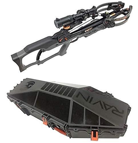 (Ravin R020 Sniper Crossbow Package Gun Metal Gray with Hard Case Bundle)