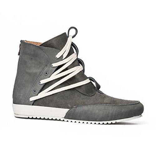 MCNDO Cuir Gris Urbaines Chaussures Ninja 9 Homme de rXWqCrOPw