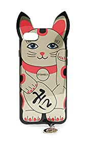 Iphoria Golden Lucky Cat IPhone X Case, Multi, iPhone X