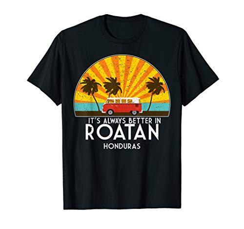 Roatan, Honduras Souvenir T-Shirt - Roatan Gift T-Shirt