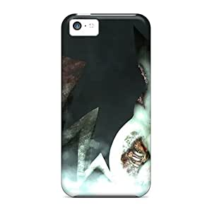Iphone 5c Case, Premium Protective Case With Awesome Look - Zombie Pikachu