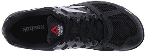 R Shoe Crossfit Grigio nero Formazione Grey Reebok dark 0 Nano Heather 2 Nero txSdqpw