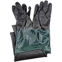 "Jewboer 23.6"" Rubber Sandblasting Sandblaster Gloves for Sandblast Cabinets"