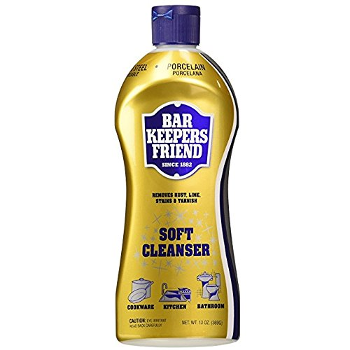 Bar Keepers Friend Soft Cleanser Premixed Formula | 13-Ounces | (2-Pack) (Cleaning Porcelain Sink)