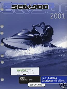 2001 sea doo watercraft gtx di parts manual new manufacturer rh amazon com 2001 seadoo gtx di service manual 2001 seadoo gtx di shop manual