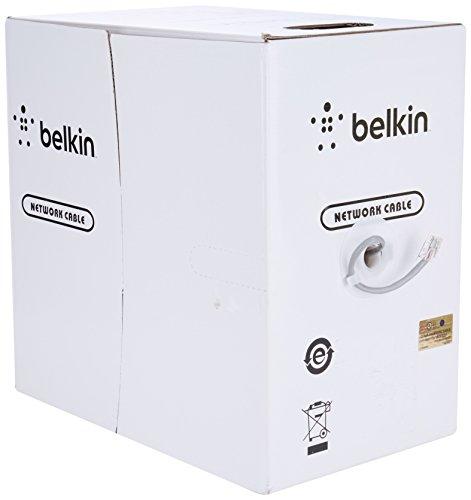 Belkin Cat-5e Bulk Patch Cable (Gray, 1000-Foot Reel) by Belkin (Image #1)'