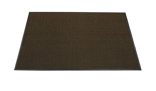 Brown 3/' x 5/' 3 x 5 Americo Manufacturing 6304035 Front Runner Vinyl Loop Outdoor Entrance Matting