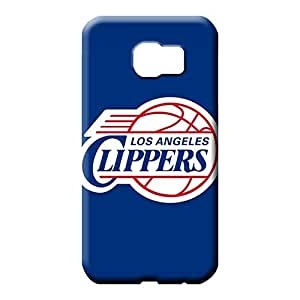 samsung galaxy s6 edge Appearance Plastic Hot Style phone carrying skins los angeles clippers
