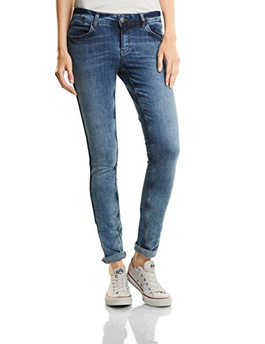Slim Blue Street Para Vaqueros Heavy Mujer One 11108 authentic Bleached Blau qgZSEAw