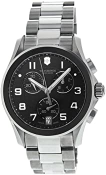 Victorinox Swiss Army SS Chronograph Quartz Men's Watch