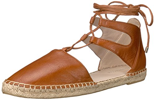 Kenneth Cole New York Womens Beverly Flat Cognac / Skinn
