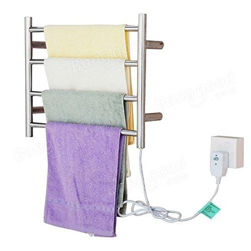 [해외]핑크 도마뱀 자동 온도 조절 전기 난방 타올 랙 스테인레스 스틸 튜브 수건 홀더/Pink Lizard Automatic Temperature Control Electric Heating Towel Rack Stainless Steel Tube Towel Holder