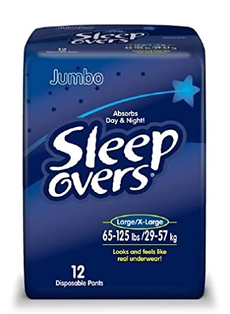 Pullups - Sleep Overs - Youth Large X Large - Compare to Huggies - 48 ct